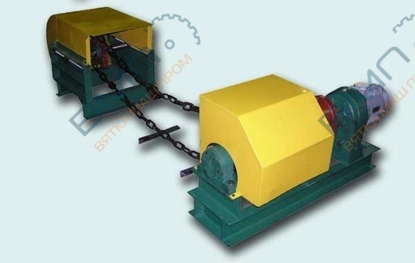 Транспортер опилочный ограждение приводного барабана конвейера